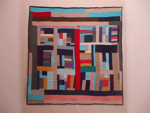 Mary Lee Bendolph, Strip Quilt