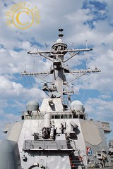 USS Arliegh Burke tower