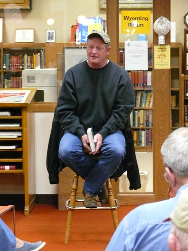Craig Johnson book fan photo