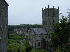 St David's Cathedral, Pembrokeshire (Caitrona) Tags: camping wales stdavids