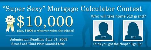 Mortgage Calculator Contest