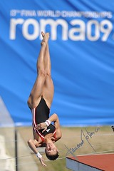 Christin Steuer (gongolo) Tags: roma sport diving piscina nuoto tuffo foroitalico trampolino sincro tuffatore piattaforma10metridonnefinale christinsteuer mondialidinuotofinaroma09