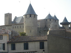 Carcassone view