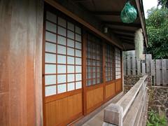 White Shoji Entry
