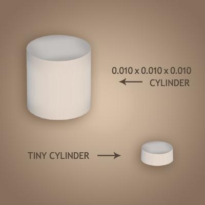 32 Tiny cylinder