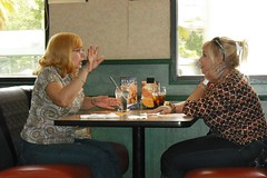 New blondes @ Denny's P.R.