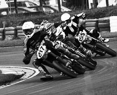 On the edge (dayjay41) Tags: mud bikes racing biking threesisters motocross dirtbikes bikers helmets haydock blackwhitephotos