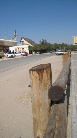 in town, Okahandja