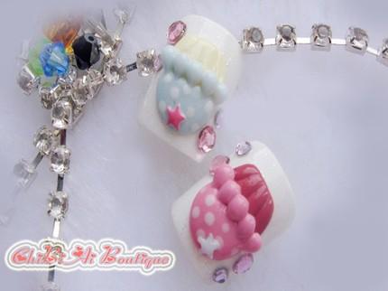 cupcake nail art-12