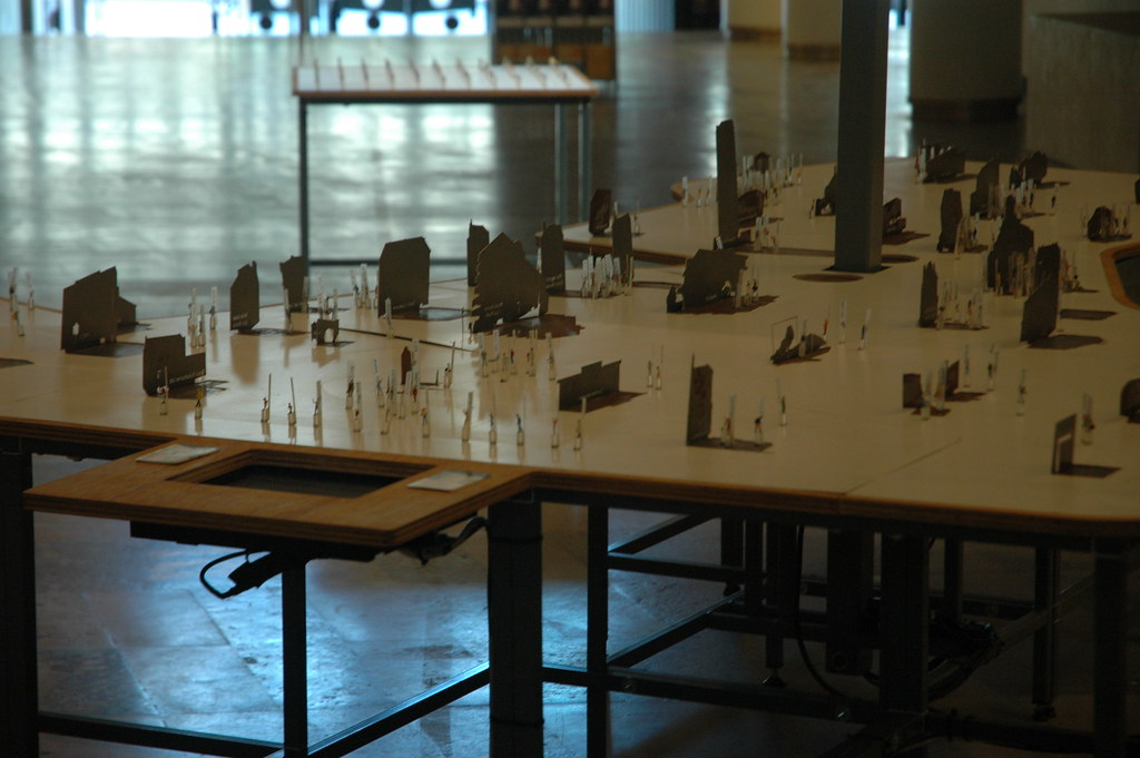 The game table, HAU 2, Berlin