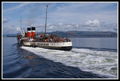 The Waverley (Cappielow2) Tags: cruise red sea white mountain black mountains colour water clouds river boats scotland riverclyde clyde greenock boat dock marine wake sailing ship colours argyll flag sony ships paddle scottish cruising wave flags quay cruiseship sail coastline mast colourful hull shipping a200 masts steamer funnel waverley quayside paddlesteamer inverclyde scottishscenery scottishmountains scottishcoast scottishcoastline sonya200 travelsofhomerodyssey argyllmountains