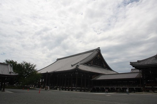 御影堂遠景(西本願寺)