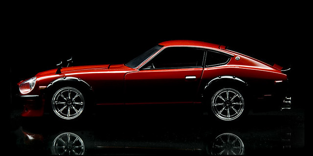 1970 Nissan Datsun 240z. Another 'paint with light' series