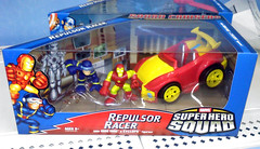 Super Hero Squad- Repulsor Racer