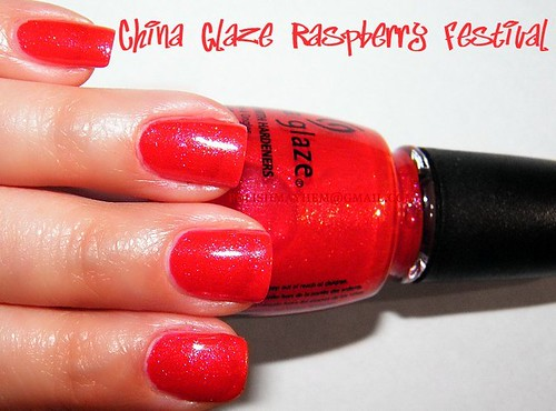 China Glaze Raspberry Festival