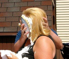 Me being pied (* Laura Ann's Photography *) Tags: pie mess lol pieinface summer2009