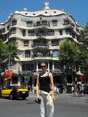 Casa Mila', Barcellona (Oksana (Oxana) - ksanka) Tags: barcelona vacanza barcellona casamila испания гауди борселона
