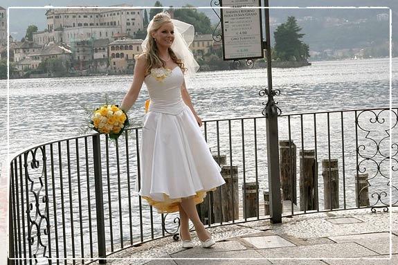 Italian bridal gown