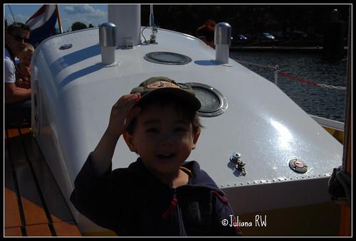 At boat
