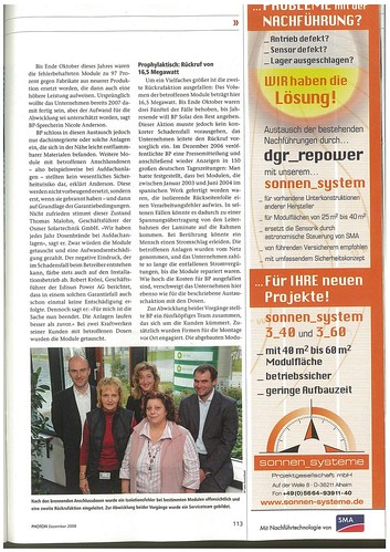 Photon 2008 12 BP Soalr Rückruf S. 2
