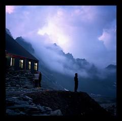 Notturno (Emmanuele Contini) Tags: alps 6x6 tempest alpi notte notturno tempesta sogni monviso hasselblad503cx contnibb rifugioquintinosella
