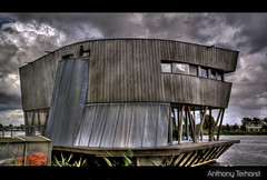 Our house, is a very,very, very fine house [ 364 hdr ] (Ton Terhorst) Tags: sky house home water clouds dark rotterdam funhouse anthony thuis lucht hdr waterhouse crazyhouse woning rotte terhorst anthony68 tonterhorst