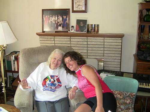 Sara and her Gram