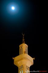 Ramadan Kareem -   (` bluechip) Tags: moon muslim islam ramadan riyadh saudiarabia ramadankareem nikkor18200mmvr mosquetower nikond300 sherwinnora