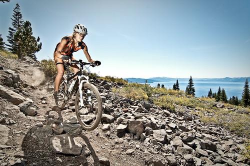 Mountain bike, lake tahoe