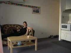 Jetzt haben wir auch ne Frau auf der Couch!