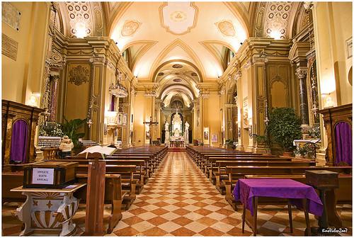 Latisana (Ud) Friuli, Italia , il Duomo