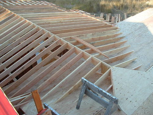 Over Framing A Cross Gable Roof To Open Great Room