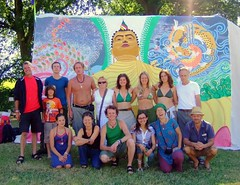 Buddhafield East team at BF Festival