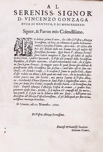 000-Prefacio-Habiti d'hvomeni et donne venetiane 1609