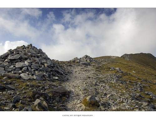 Cairns on Errigal