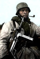 german soldier (dani1944) Tags: soldier army nazis ss german weapon ww2 1943 waffen russland mp40