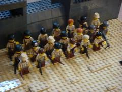 Minifigs (Arcon.) Tags: lego wwii german americans dday mg42 brickarms brickforge
