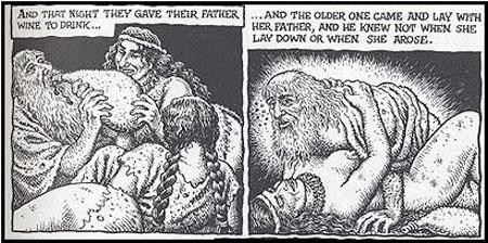 Noe, R. Crum-en begietan