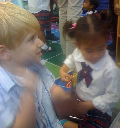 new school visit