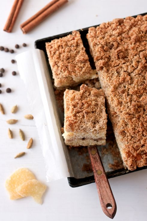 Chai Coffee Cake