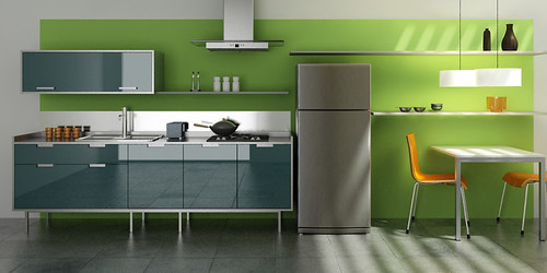 Kitchen Design   3D Max + Vray