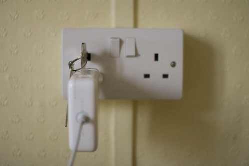 Power outlet trick