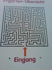 Irrgarten Kleinwelka - Plan (svenwalper) Tags: maze labyrinth labyrint bludit irrgarten kleinwelka