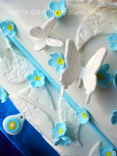 WEDDING CAKE-DERYA AND OZAN
