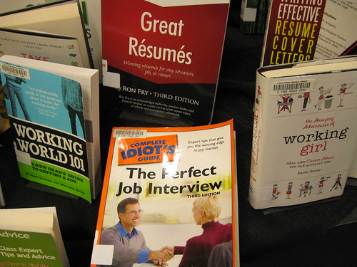 Job Hunting Resources by Lucius Beebe Memorial Library, on Flickr