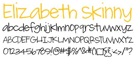 click to download Elizabeth Skinny