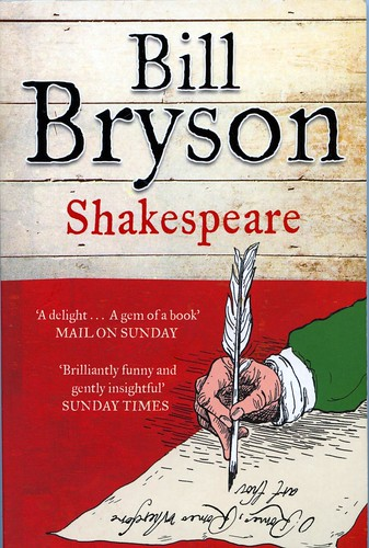 Cover of Bill Bryon's book 'Shakespeare'