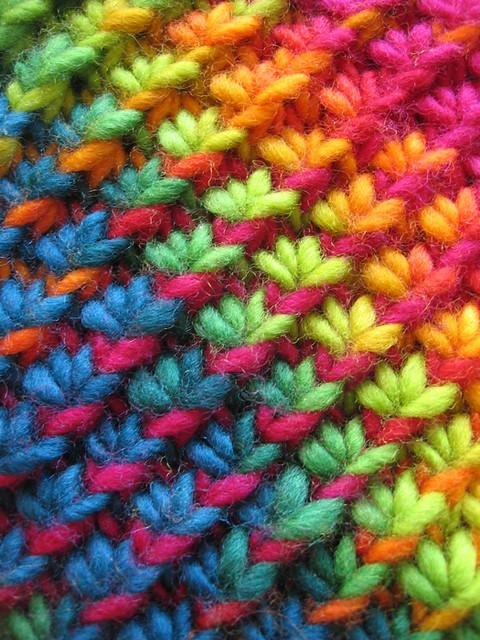 Knit Stitch For Crochet : Blij dat ik brei: Star Stitch