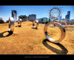 0 0 o 8 :: HDR (Artie | Photography :: I'm a lazy boy :)) Tags: urban art photoshop canon rebel shine cs2 tripod balls sigma australia melbourne wideangle victoria ring urbanart cups blowhole round docklands 1020mm armature hdr artie 3xp sigmalens photomatix docklandspark tonemapping tonemap duncanstemler xti 400d