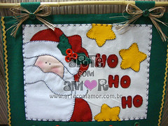 Calendrio do advento (Arte com Amor by Eve) Tags: natal noel corao arvore papainoel decorao calendrio enfeite maaneta natalino advento
